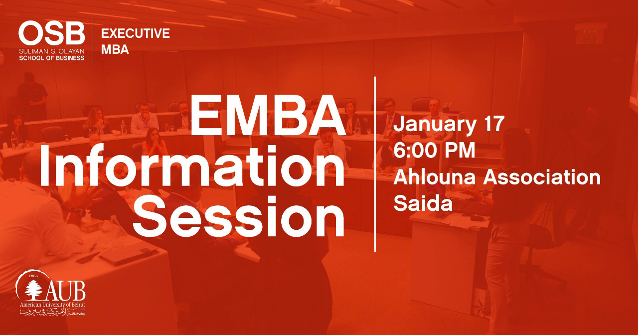 ​EMBA Information Session